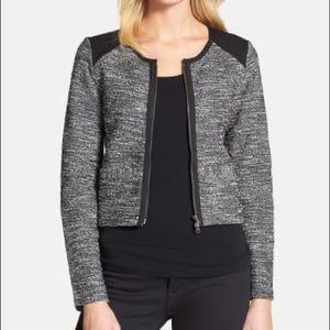 Eileen Fisher Tweed Jacket M